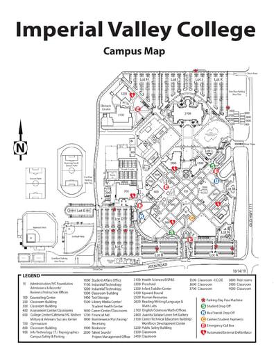 IVC Campus Map